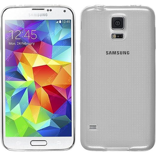 43 opinioni per PhoneNatic Custodia Samsung Galaxy S5Mini Cover Silicone Trasparente Slim Case