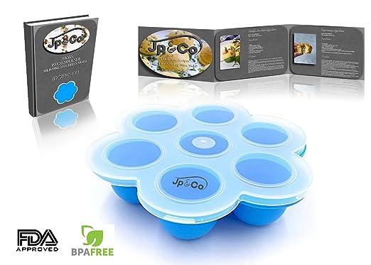JP & Co. Silicona Huevo Bites moldes para Instant Pot Accesorios ...