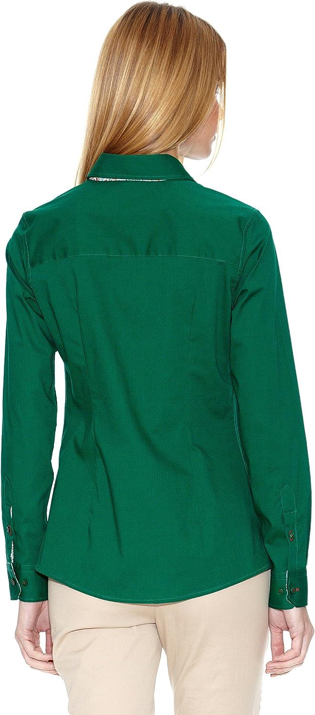 POLO CLUB Camisa Mujer 307 Verde Botella ES 34: Amazon.es: Ropa y ...