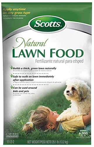Scotts Natural Lawn Food - 4,000-sq ft