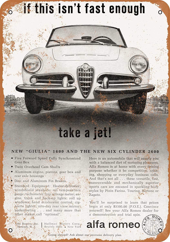 Vintage Alfa Romeo >> Amazon Com Iliogine 1963 Alfa Romeo Giulia 1600 Vintage