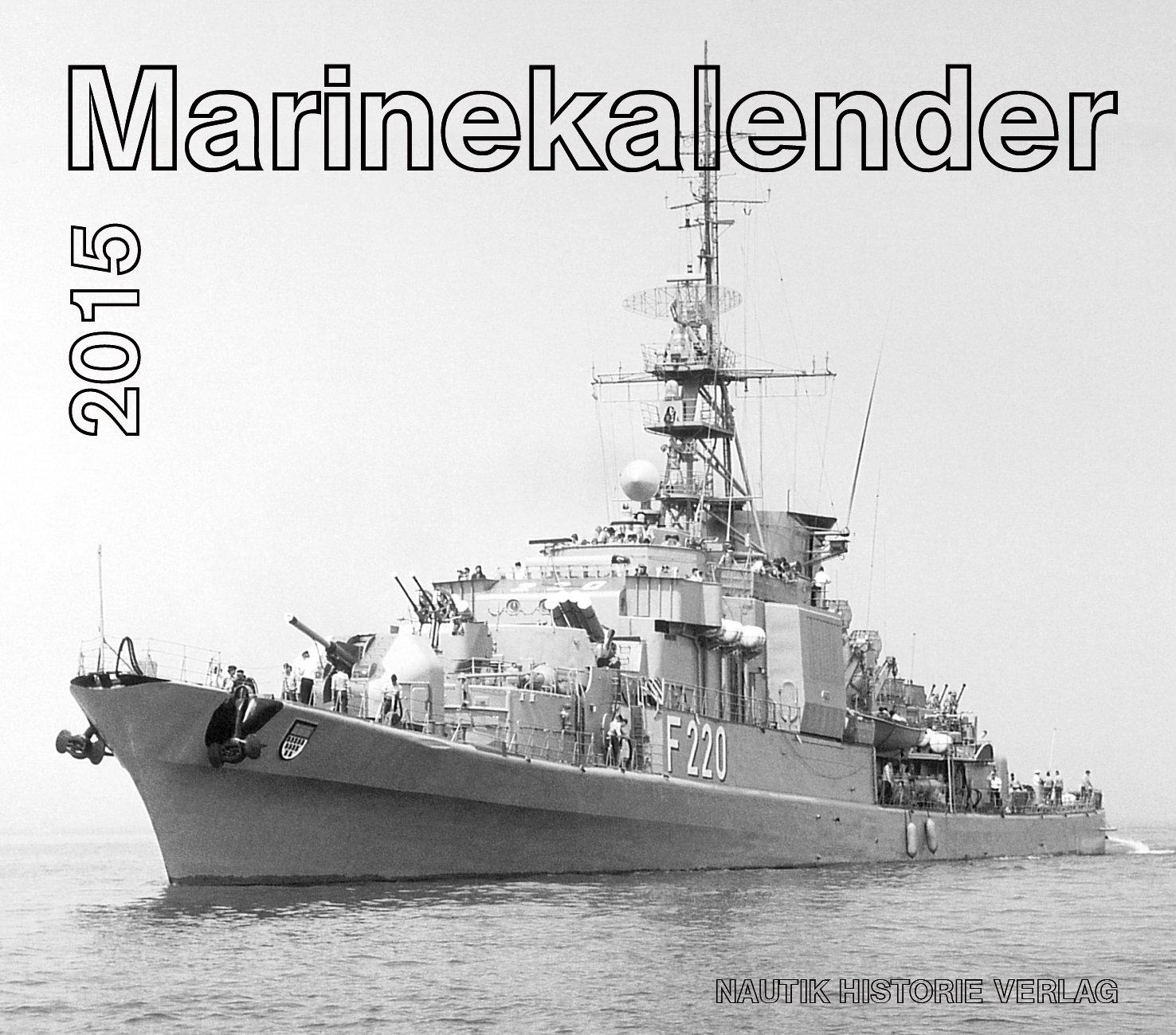 Marinekalender: Kalender 2015