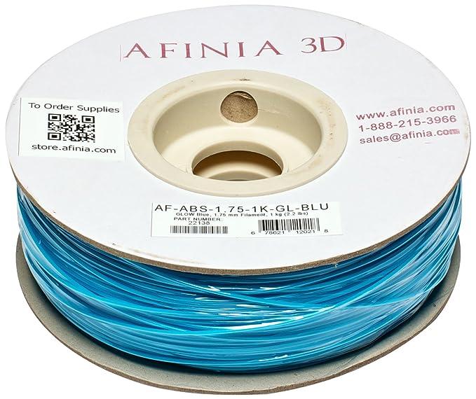 Afinia af-abs-1.75 – 1 K-gl-bl Value Line Glow-in-dark ABS ...