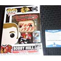 "$59 » Beckett Bobby Hull Autographed Signed Inscribed""HOF 1983"" Funko Pop - First Ever…"