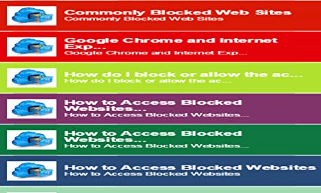 Amazon com: Enter Blocked Sites Mobile: Appstore for Android