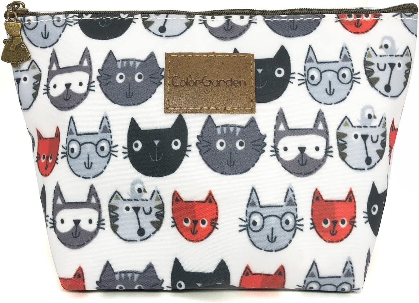 HUNGER Cute Cats Make-Up Cosmetic Bag Carry Case , 14 Patterns (P11417020)