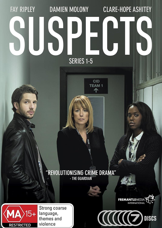 Amazon com: Suspects Series 1, 2, 3, 4 & 5 | Fay Ripley