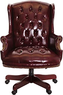 Presidential office chair Global Timeoffice Traditional Executive Chair Button Tufted Style Leather Indiamart Amazoncom Line Furniture Presidential Button Tufted Burgundy