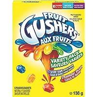 Betty Crocker Gluten Free Gushin Grape/Strawberry Gushers, 6-Count, 138 Gram