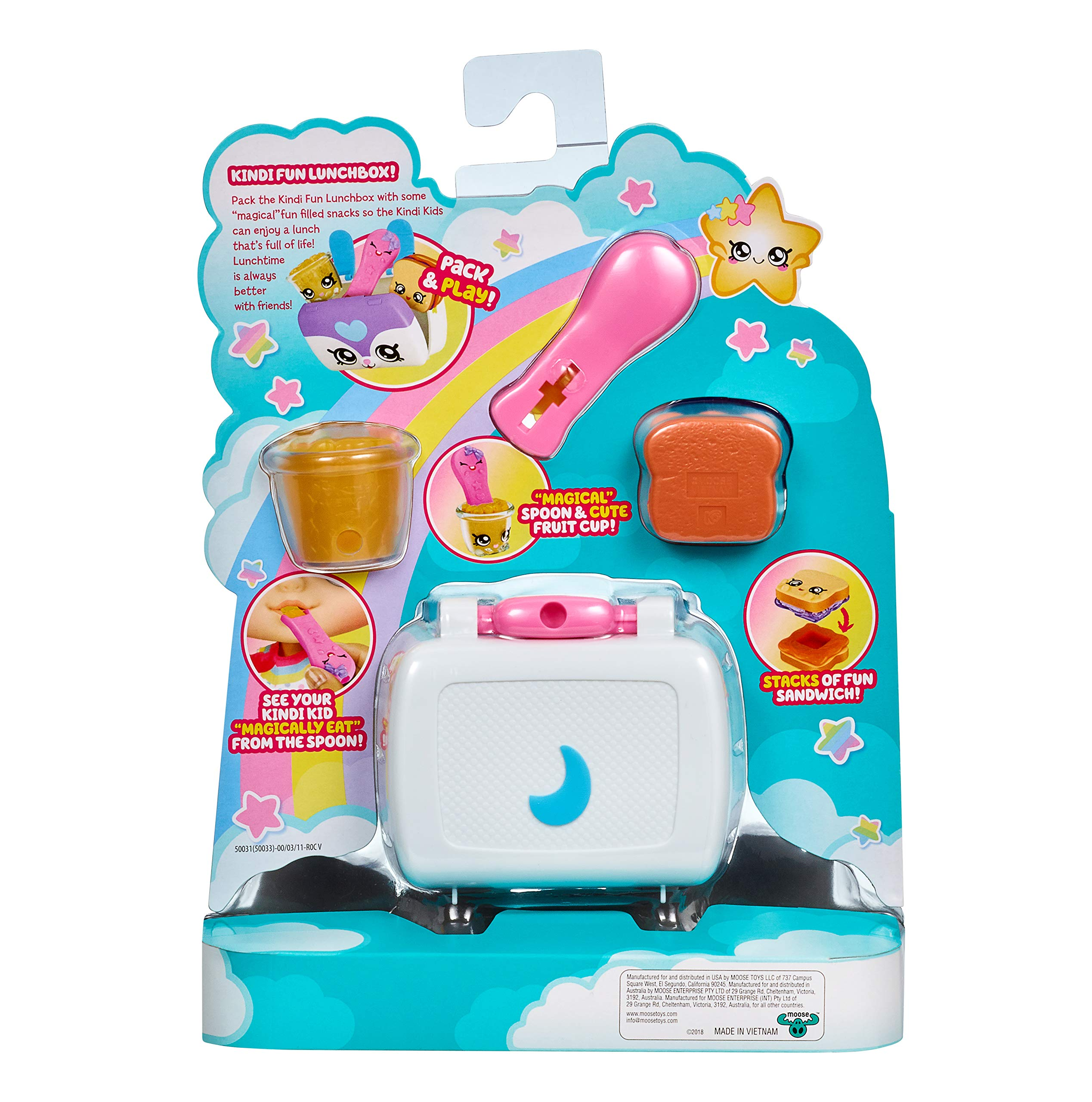 Multicolore Kindi Kids 50009 Marsha Mello toddler doll