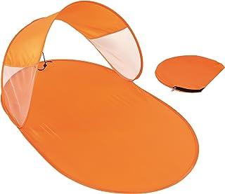 Abri de plage pop-up orange 120 x 65 cm portée de plage