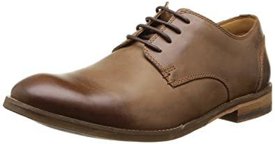 be48429773 Clarks Men's Tobacco Leather Formal Shoes - 6 UK: Buy Online at Low ...