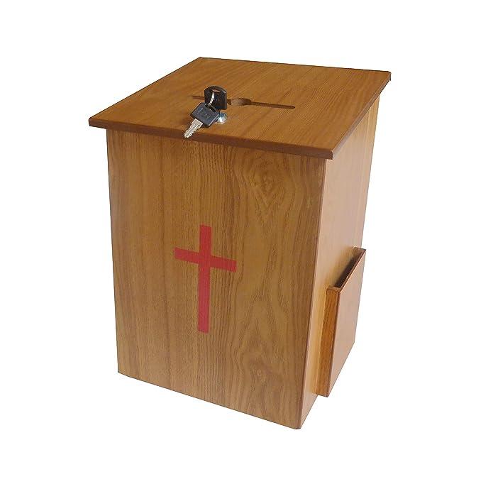 Amazon.com: Fixture displays Donación Box, Diezmo Caja ...
