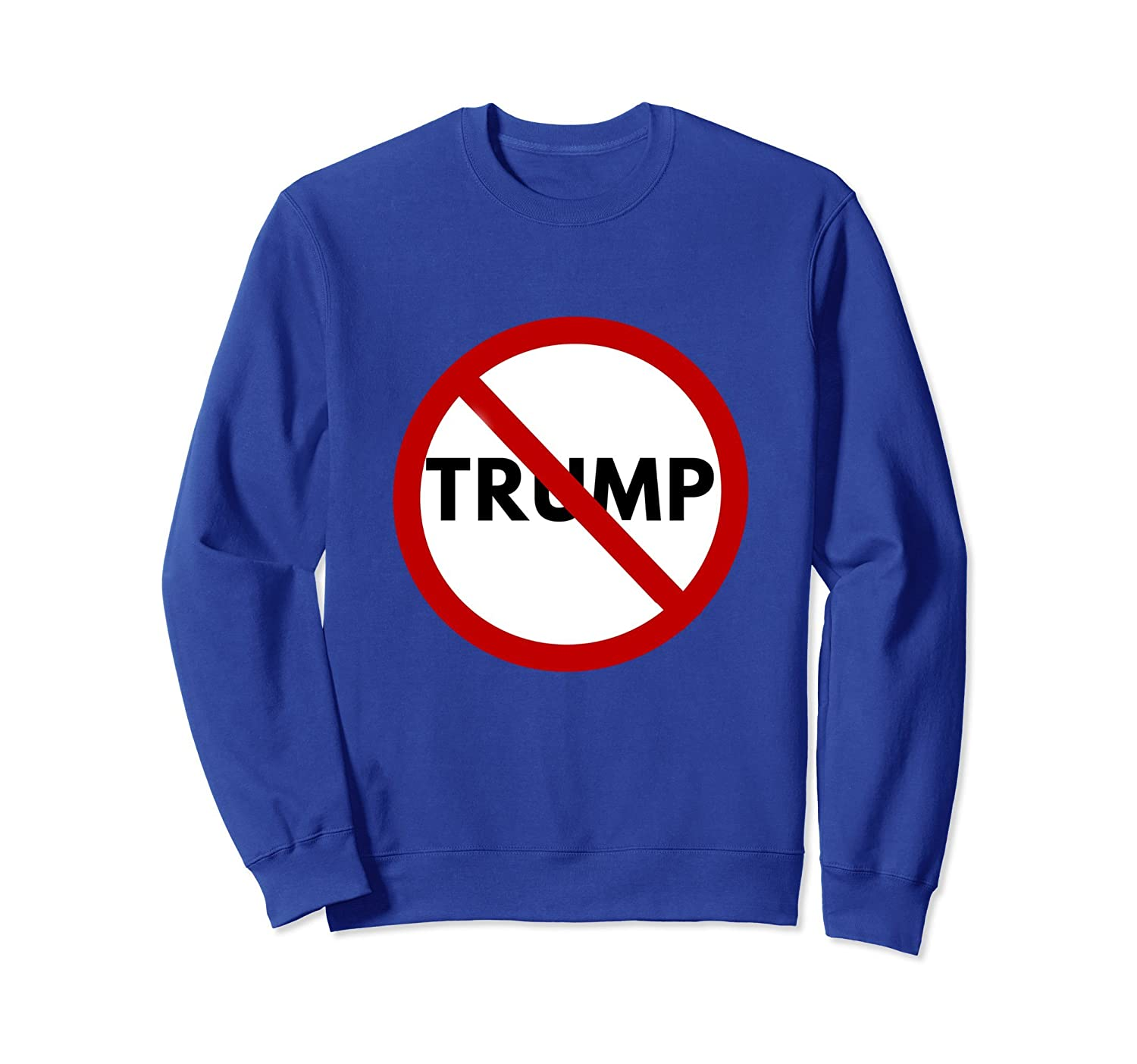 Anti Trump - Never Trump Sweatshirt-TH
