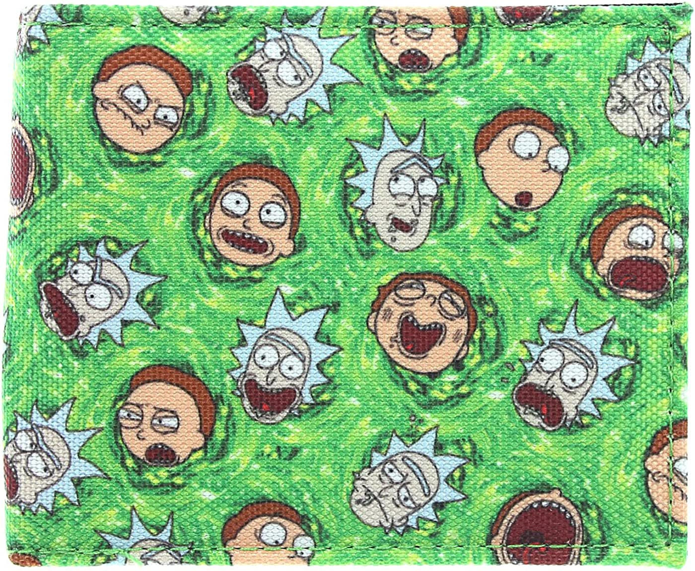 Rick and Morty Sublimated Bifold Wallet