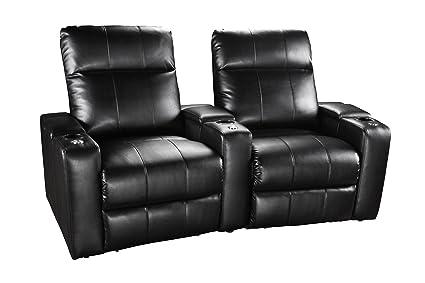 Amazon.com: Row One RO8013TU-02PS 121B Plaza Power 2-Chair ...