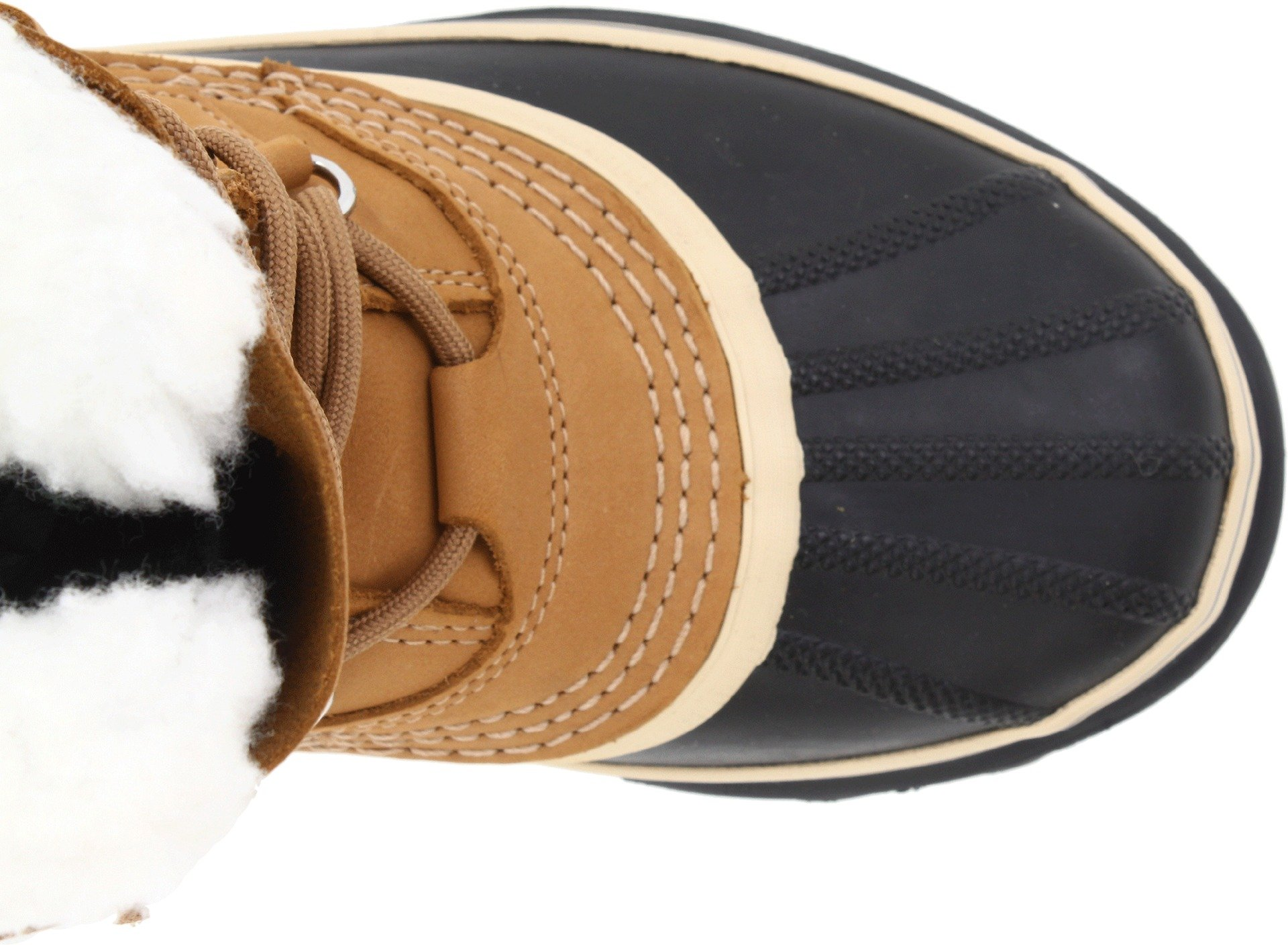 SOREL Women's Caribou NL1005 Boot,Buff,10 M by SOREL (Image #8)