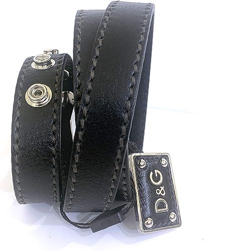 Dolce & Gabbana - Cinturón para mujer, talla 90 cm, color negro: Amazon.es: Ropa y accesorios
