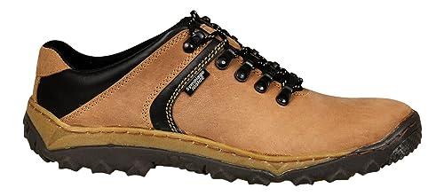 Zapatos De es Y Complementos Natural Cuero Hombre Trekking Lukpol Amazon xZ5ATnOxd