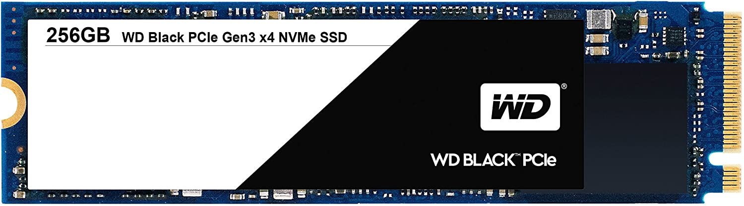 WD Black 256GB Performance SSD - 8 Gb/s M.2 PCIe NVMe Solid State Drive – WDS256G1X0C [Old Version]