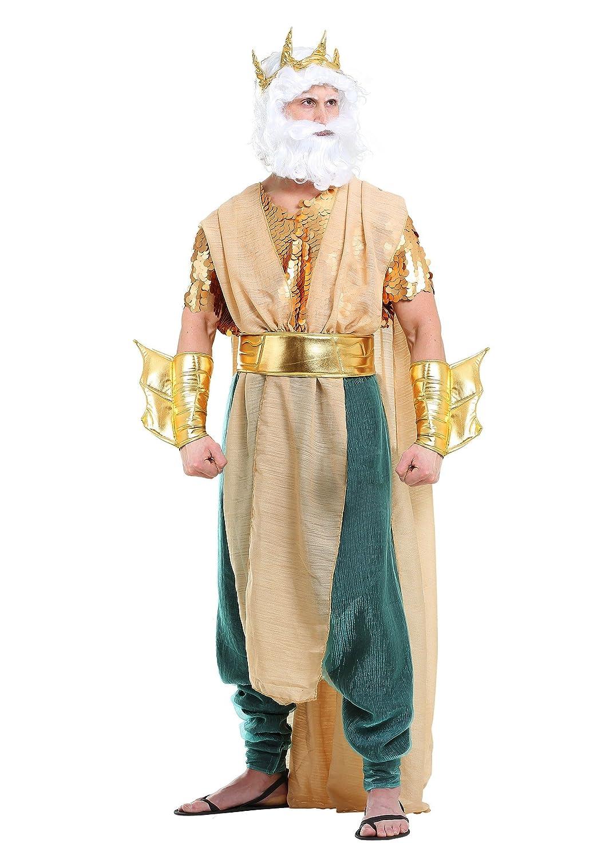 Poseidon Plus Size Men's Fancy Dress Costume 3X