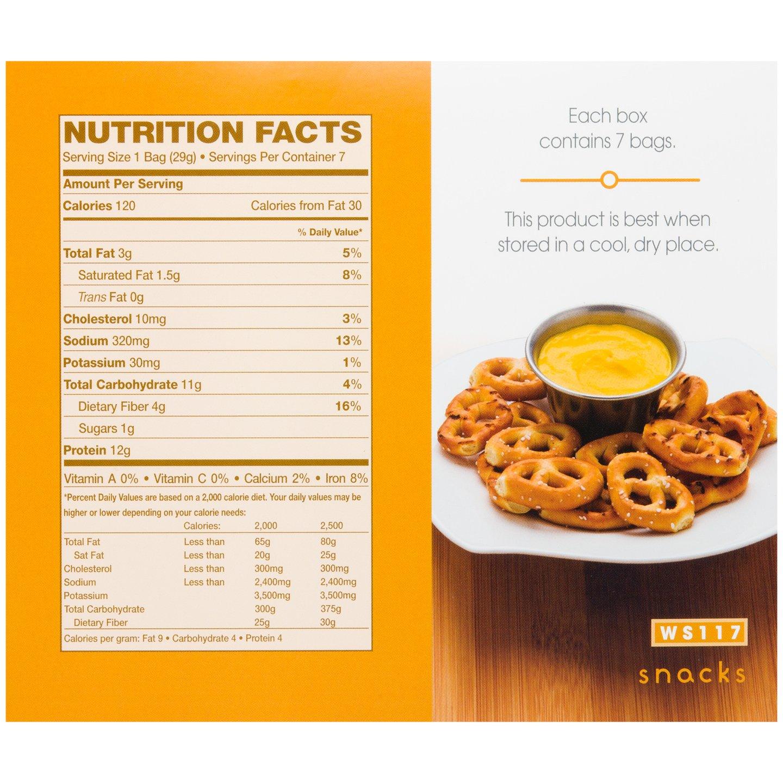 WonderSlim High Protein Pretzel Snacks