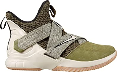 low priced 39675 f1461 NIKE Men s Lebron Soldier XII Basketball Shoes, Multicolour (Olive  Canvas String Gum