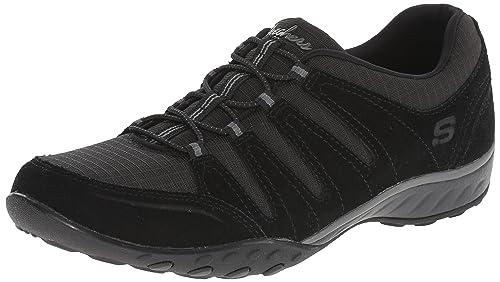 Skechers Women's Breathe-Easy Imagine Trainers Black Schwarz ...