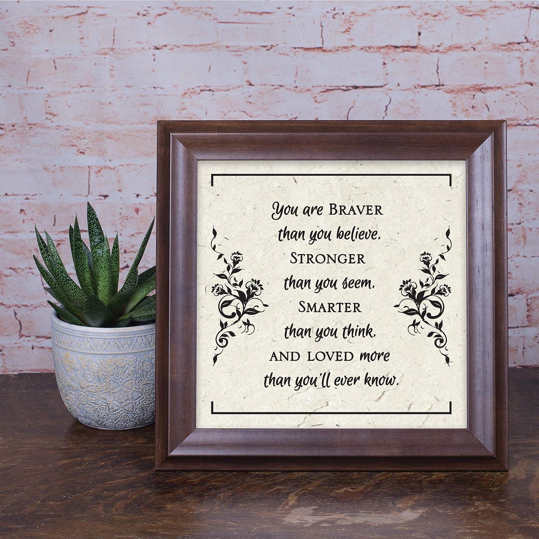Elanze Designs Mom Your Love 12 x 12 Black Wood Shadow Box Framed Sign Plaque