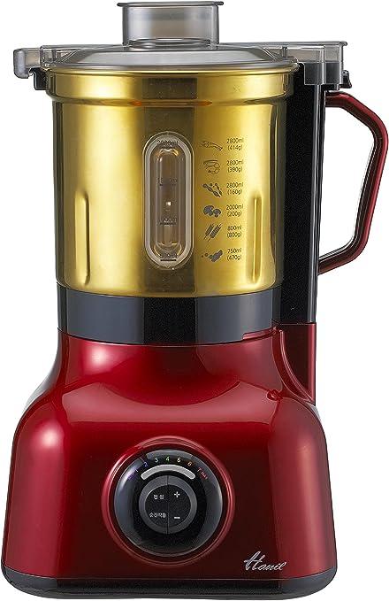 Opinión sobre Hanil Batidora de tazón de acero inoxidable Capacidad de la taza 3.0 Litros Rojo