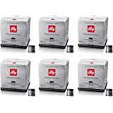 Illy 6 pack Cube BLACK coffee 108 capsules toast strong
