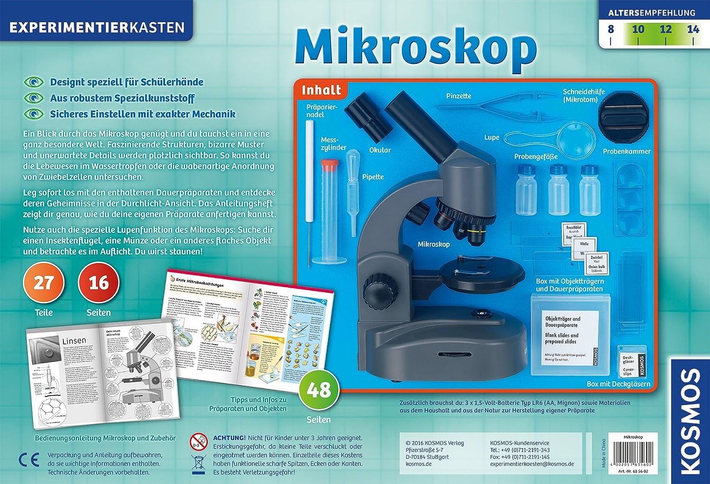 Kosmos das große forscher mikroskop experimentierkasten eur