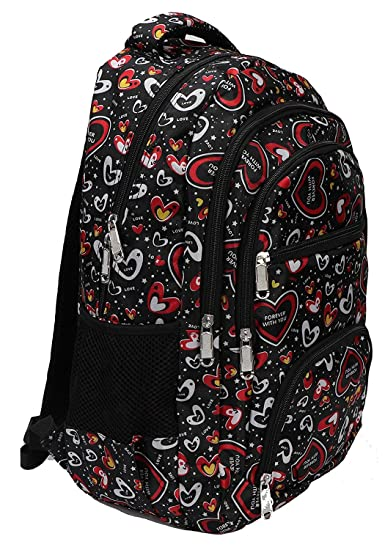 620796355f AREO 22 (L) Polyester Light Pink School Bag for Boys   Girls  Amazon.in   Bags