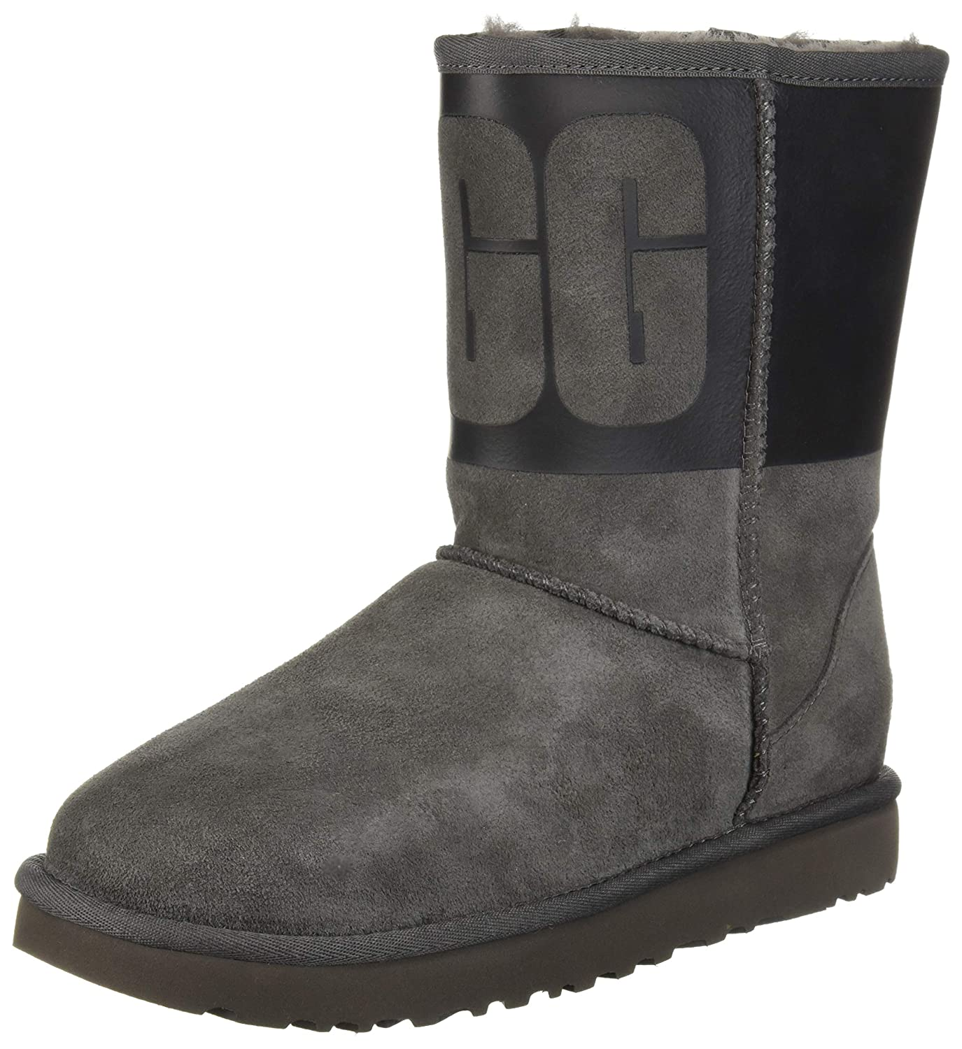 c0a4f95b426 UGG Women's W Classic Short UGG Rubber Fashion Boot