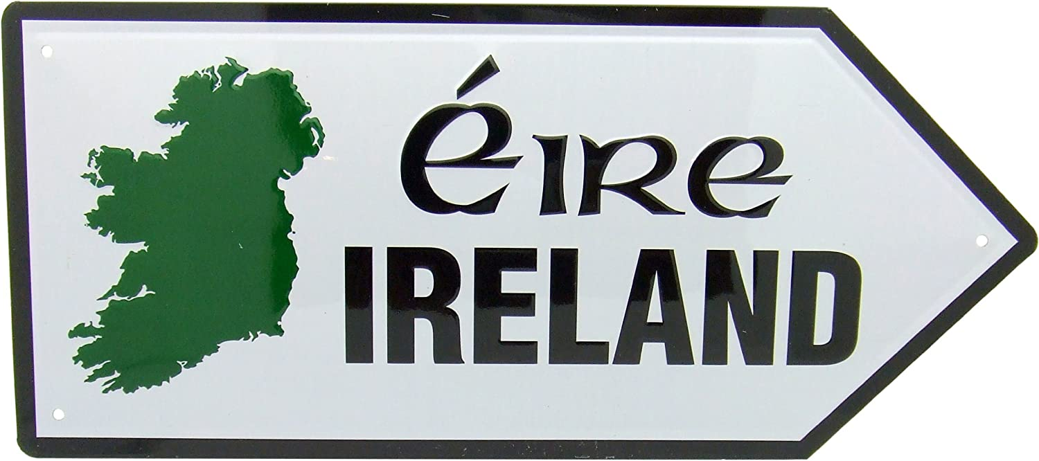 Westin Works Gifts Irish Street Road Sign Map Metal Wall Decor Gift From  Ireland: Amazon.co.uk: Kitchen & Home