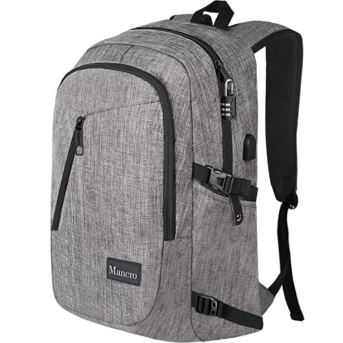 Anti Theft Mens Laptop Backpack