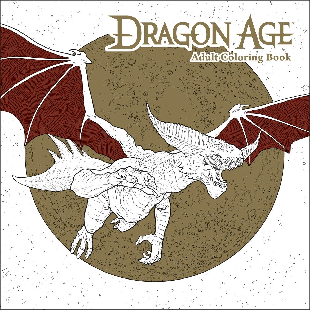 Dragon Age Adult Coloring Book by Dark Horse