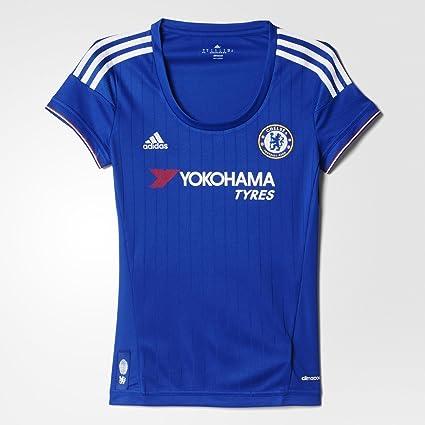 ea887929213 Adidas Chelsea FC Home Womens Jersey-CHEBLU (XL)  Amazon.ca  Sports ...