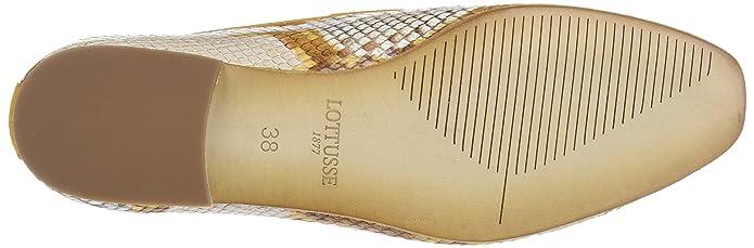 Lottusse S9543, Mocasines (Loafer) para Mujer, Marrón (Snake Honey), 38 EU: Amazon.es: Zapatos y complementos