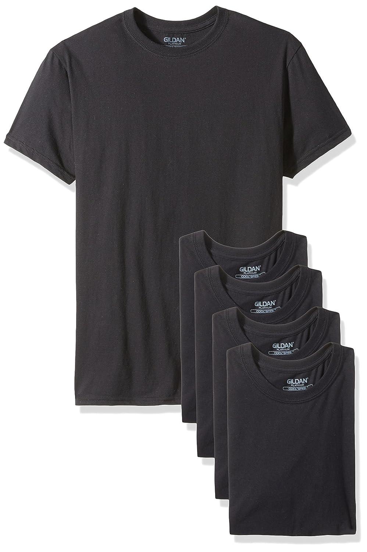 Gildan Platinum Men's 5-Pack Crew Neck T-Shirt