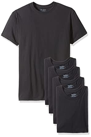 0ae9cc3bc209 Gildan Platinum Men s 5-Pack Crew Neck T-Shirt at Amazon Men s Clothing  store