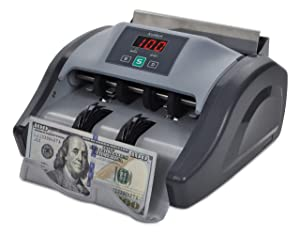 Kolibri Money Counter with UV Detection and 1-year Warranty