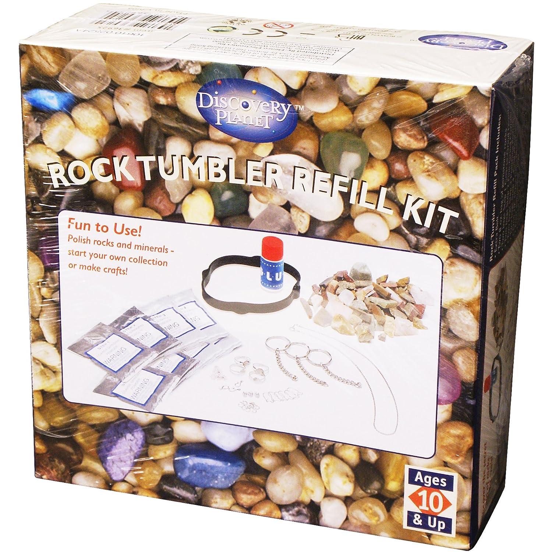 Elenco Electronics Discovery Planet Rock Tumbler Refill Kit Elenco Electronics Inc EDU-36925