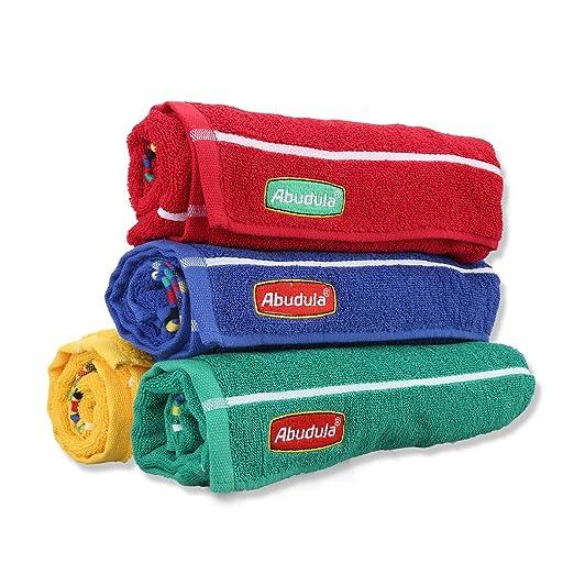 100% puro algodón abudula gimnasio toalla toalla de Yoga para ejercicios de fitness, deportes y al aire libre & 38 * 110 deportes toalla, rojo: Amazon.es: ...