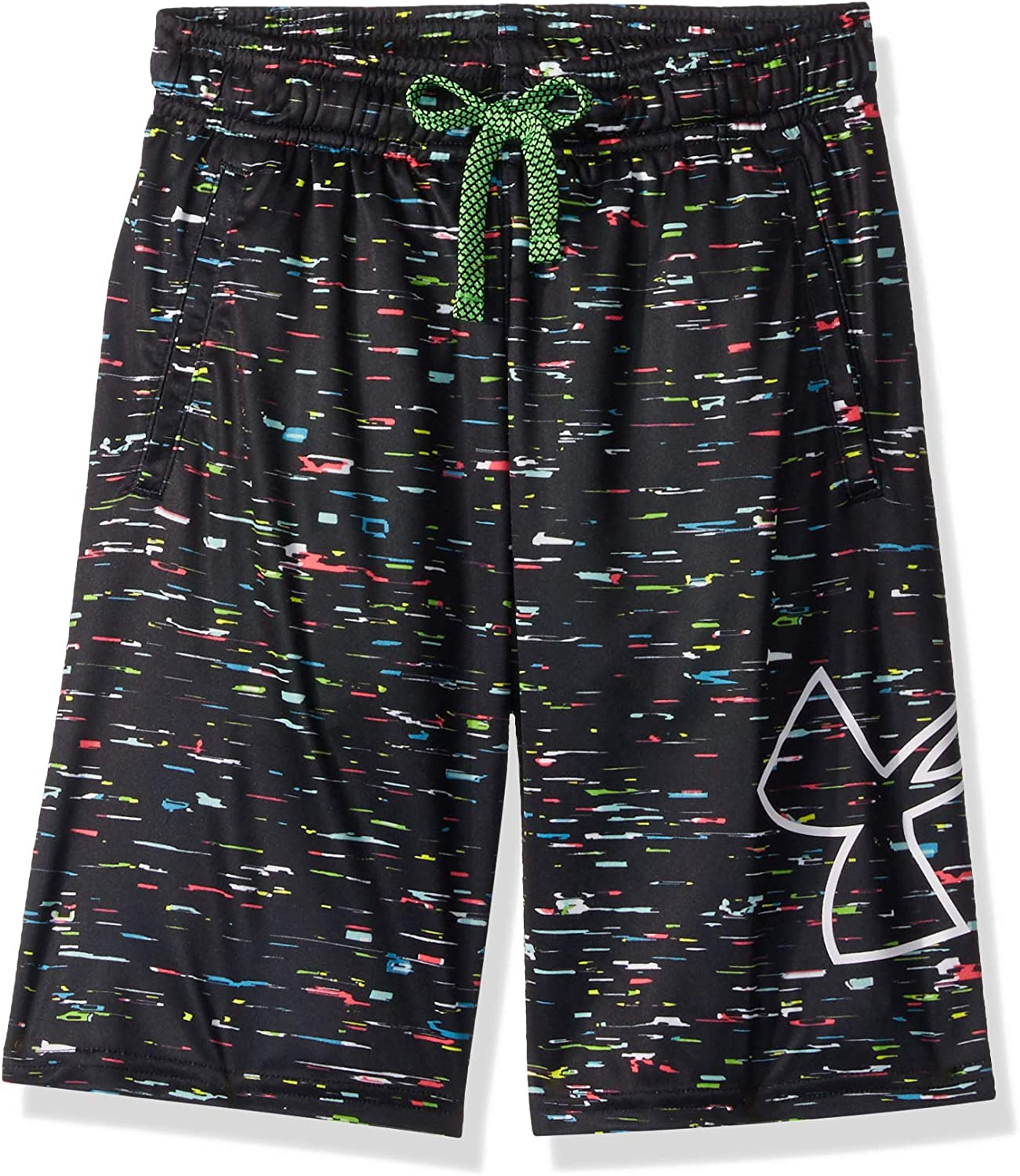 Under Armour Boys' Renegade 2.0 Printed Shorts: Clothing