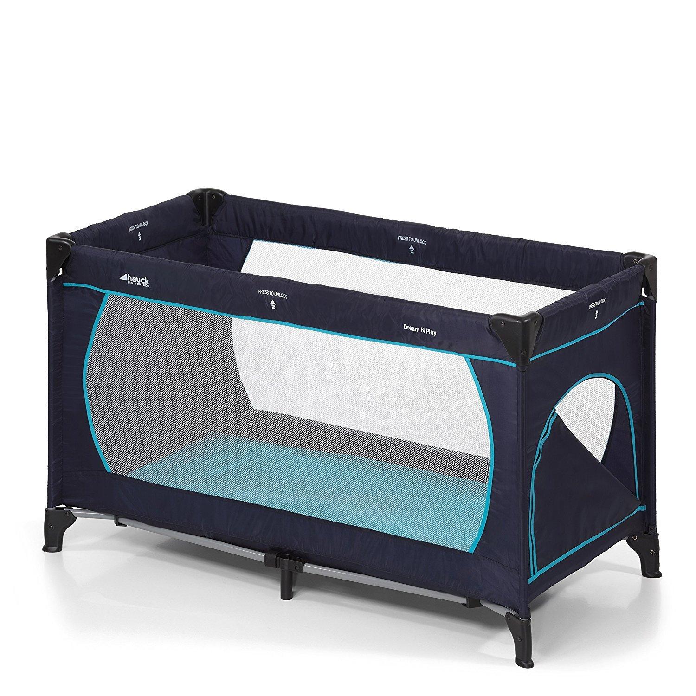 inkl./ Julius Z/öllner Premium Reisebettmatratze 120 x 60 cm grau Hauck Kinderreisebett Dream N Play Plus tragbar und klappbar