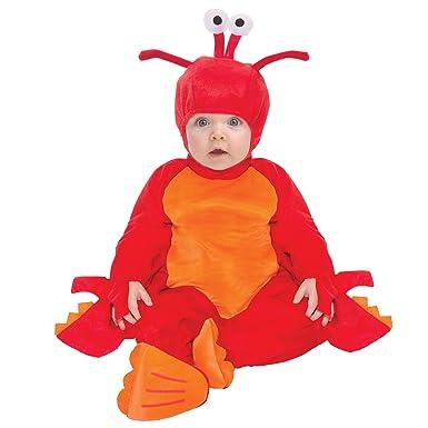 Amazon.com Cute Baby Lobster Halloween Costume Size 6-12 Months Clothing  sc 1 st  Amazon.com & Amazon.com: Cute Baby Lobster Halloween Costume Size 6-12 Months ...