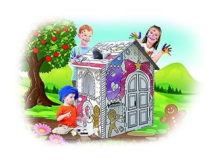 Spiritoy My Gingerbread Cardboard Playhouse