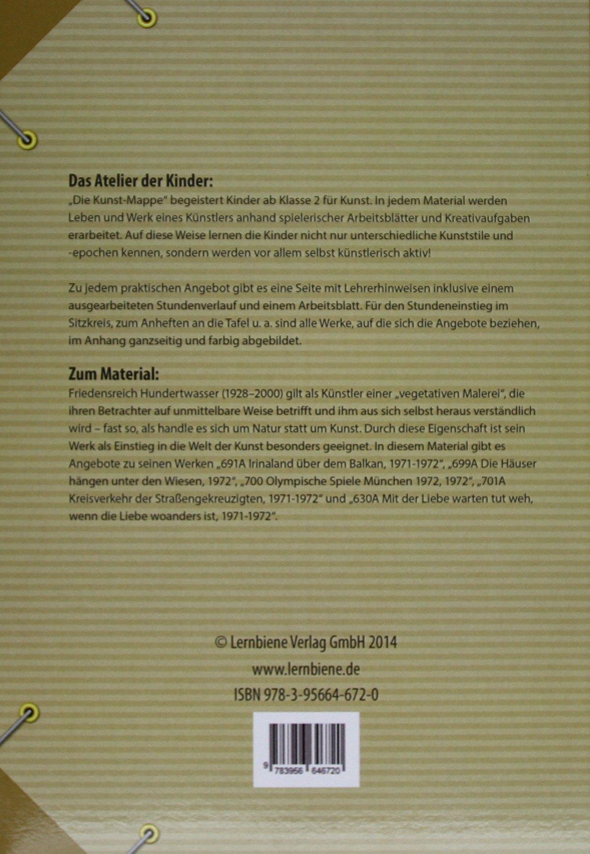 Die Kunstmappe: Hundertwasser: Grundschule, Kunst, Klasse 2-4 ...