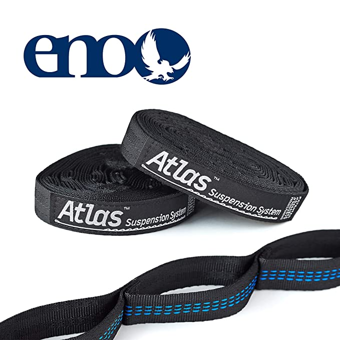 Wild Bears Hammock Straps ON SALE Easy to Use Set of 2 Adjustable Tree Friendly Straps No Stretch Polyester 20 ft//38 loops combined Compatible w//Eno Camping Hammock and others Triple Stitched